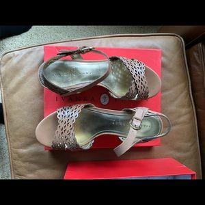 Ivanka Trump platform sandals. Worn once